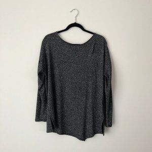 ⭐️ 2/$20 ⭐RW&CO. Asymmetric Gray Shirt Long Sleeve